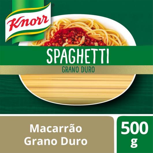 Macarrão Spaghetti Knorr Grano Duro 500 G - Imagem em destaque