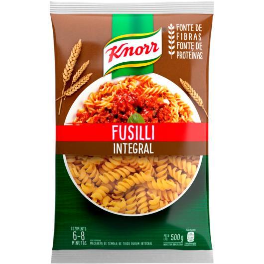 Macarrão Integral Fusilli Knorr 500g - Imagem em destaque