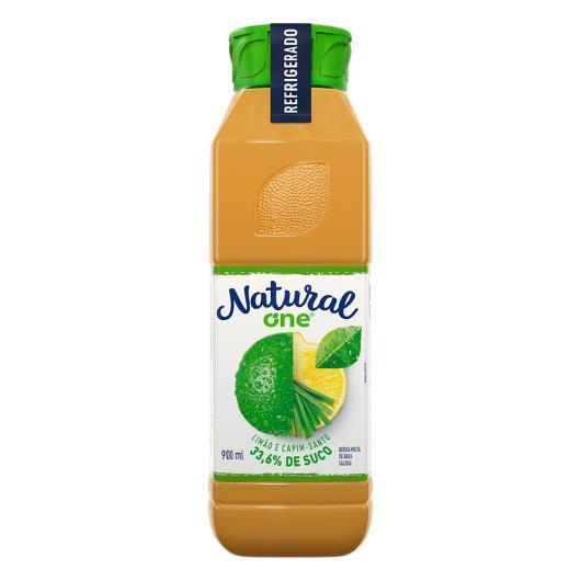 Bebida Limão e Capim-Santo Natural One Refrigerado Garrafa 900ml - Imagem em destaque