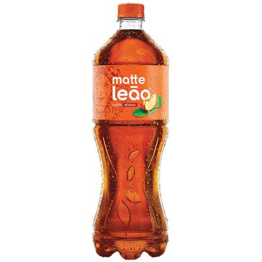 Chá Matte Pêssego Leão Pet 1,5L - Imagem em destaque
