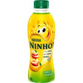 Iogurte maçã e banana Ninho Nestlé 850g
