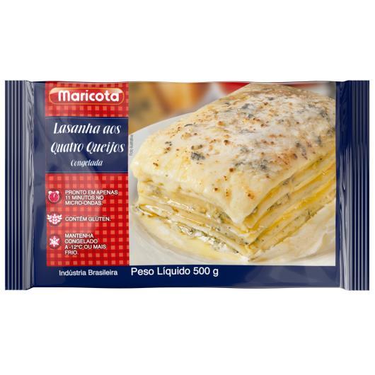 Lasanha Quatro queijos Maricota 500g - Imagem em destaque