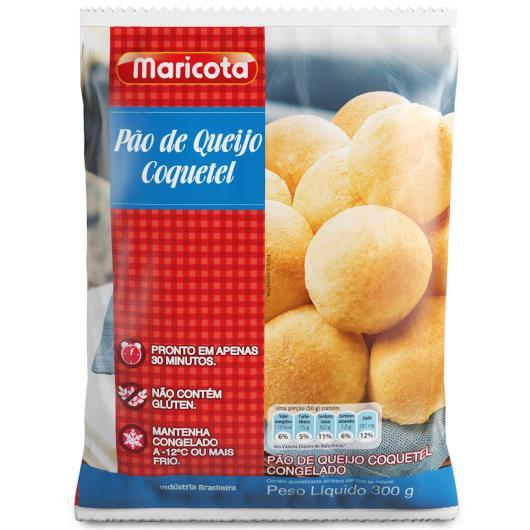 Pão de queijo coquetel Maricota 300g - Imagem em destaque