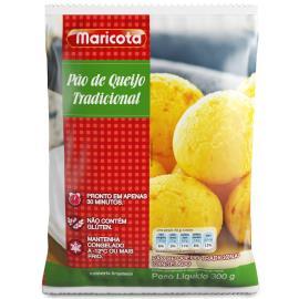 Pão de queijo tradicional Maricota 300g