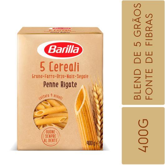 Macarrão 5 Cereali Penne Barilla 400g - Imagem em destaque
