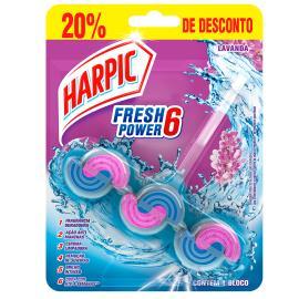 Detergente sanitário fresh power lavanda 20% desonconto Harpic unidade