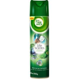 Odorizador aerossol Bom Ar Air Wicklife scents frescor da cachoeira 360ml