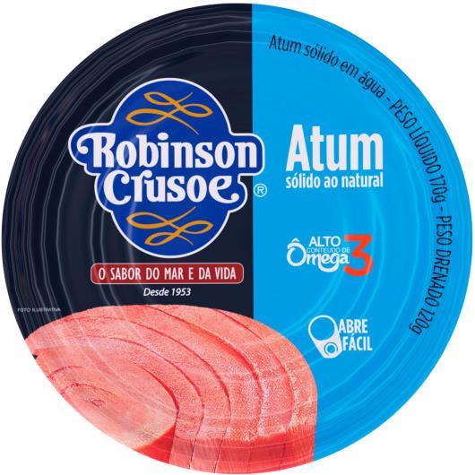 Atum sólido natural Robison Crusoé 160g - Imagem em destaque