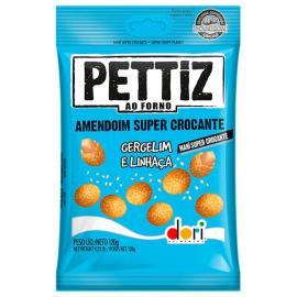 Amendoim gergelim e linhaça Pettiz Dori 120g
