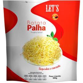 Batata Palha Let's Tradicional 500g