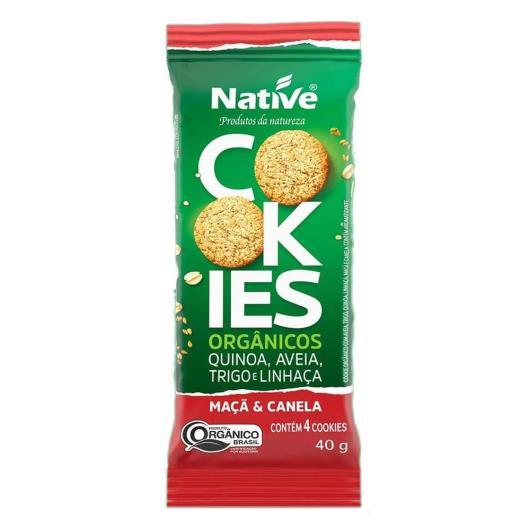 Cookie orgânico maçã e canela Native 40g - Imagem em destaque