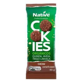 Cookie orgânico cacau Native 40g
