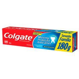Creme Dental máxima proteção anticáries leve 180g pague 140g Colgate 180g