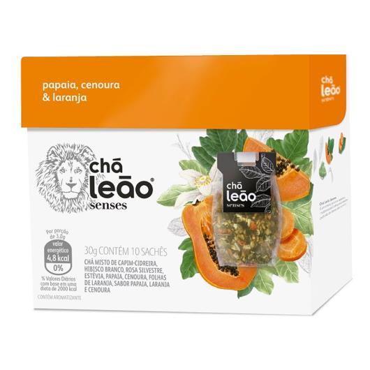Chá senses mamão papaia laranja e canela Leão 25g - Imagem em destaque