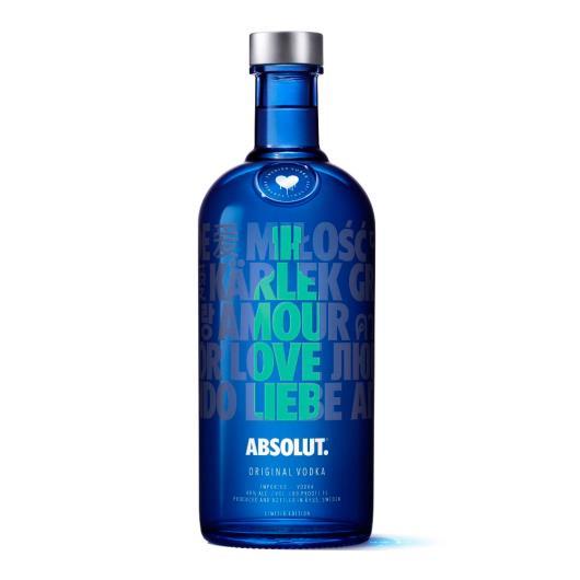 Vodka original Absolut edição limitada 1L - Imagem em destaque