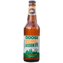 Cerveja Goose Midway Session Ipa Garrafa 355ml