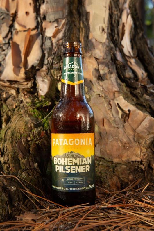 Cerveja Patagonia Bohemian Pilsener 355ml Long Neck - Imagem em destaque