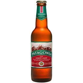 Cerveja Amber Lager Patagonia Garrafa 355ml
