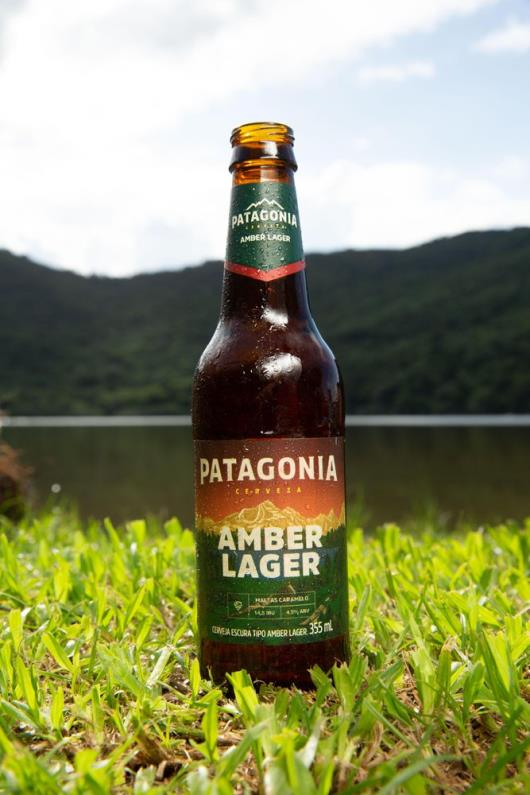 Cerveja Patagonia Amber Lager 355ml Long Neck - Imagem em destaque