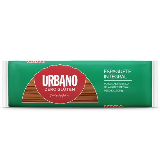 Espaguete de Arroz Integral Sem Glúten Urbano 500g - Imagem em destaque
