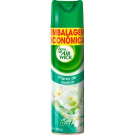 Odorizador Bom Ar Air Wick flores de jasmim embalagem econômica 360ml