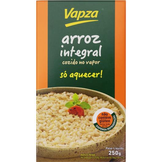 Arroz integral cozido no vapor Vapza 250g - Imagem em destaque
