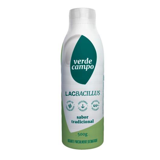 Iogurte tradicional Lacbacillus Verde Campo 500g - Imagem em destaque