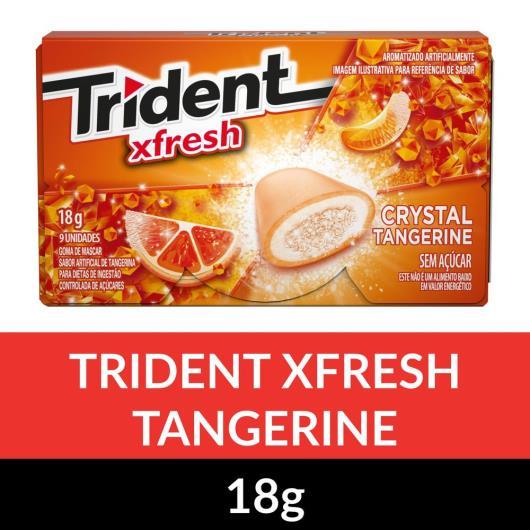 Gomas de Mascar TRIDENT Carteira Tangerina 18g - Imagem em destaque