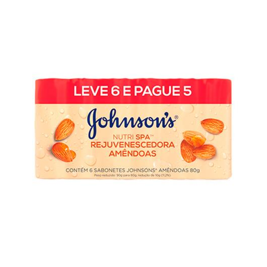 Sabonete Johnson's Rejuvenescedora/Amêndoas Leve 6 Pague 5 480g - Imagem em destaque