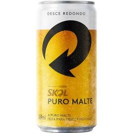 Cerveja Skol Puro Malte Lata 269ml