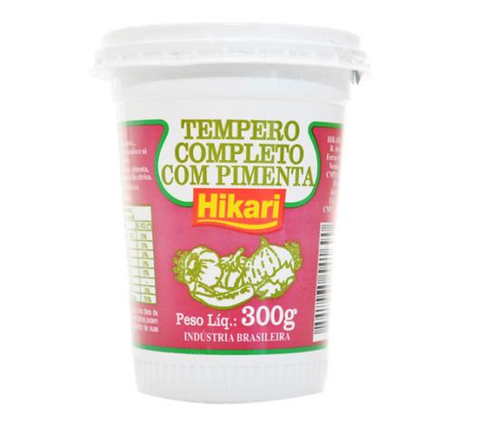 Tempero Hikari completo com pimenta 300g - Imagem em destaque