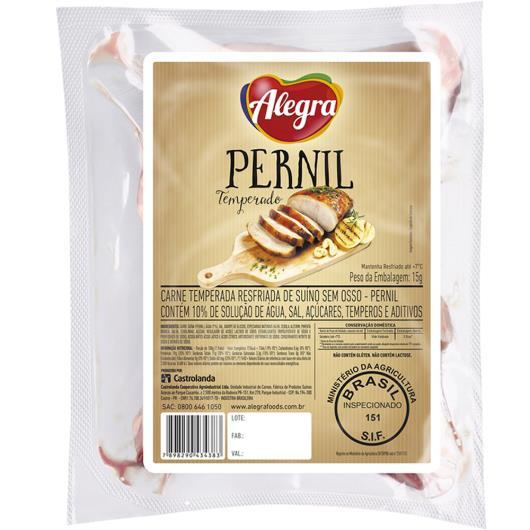 Pernil temperado resfriado Alegra 800g - Imagem em destaque
