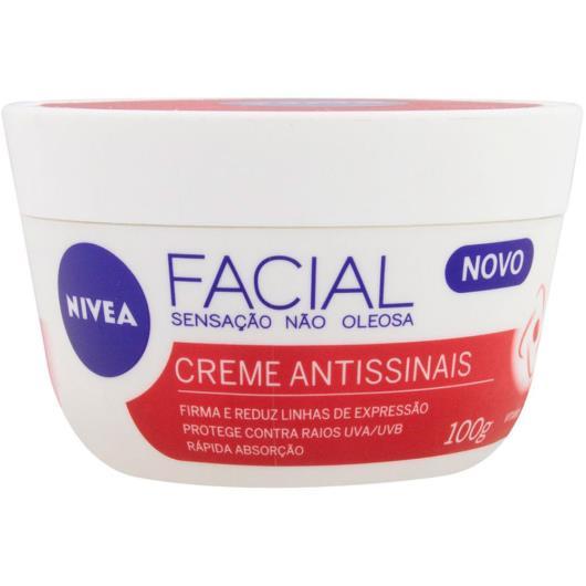 Creme Facial Antissinais Nivea 100g - Imagem em destaque