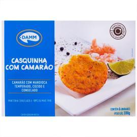 Casquinha com camarão temperado e cozido Damm 330g