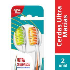 Escova Dental Slim soft suave e macia 2 Pack Colgate unidade