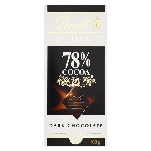 Chocolate 78% cacau Excelence Lindt 100g - Imagem em destaque