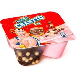 Iogurte Chamyto Morango c/Cereais Chocolate 130 g