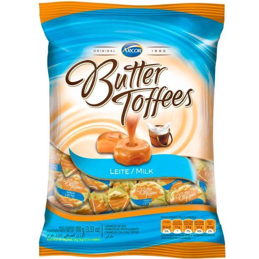 Bala Butter Toffees Leite 100 g - Imagem em destaque