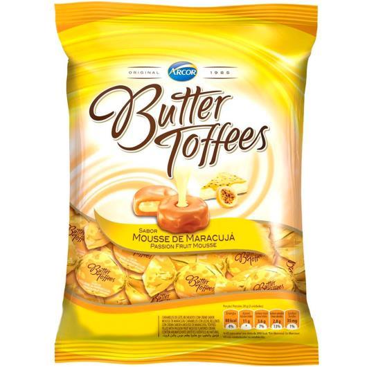 Bala Butter Toffees Mousse Maracujá 100 g - Imagem em destaque