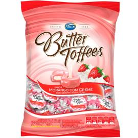 Bala Butter Toffees Morango 100 g