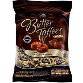 Bala Butter Toffees Chokko chocolate Amargo 100 g