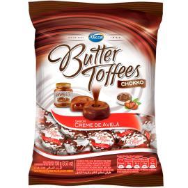 Bala Butter Toffees Chokko Creme de Avelã 100 g