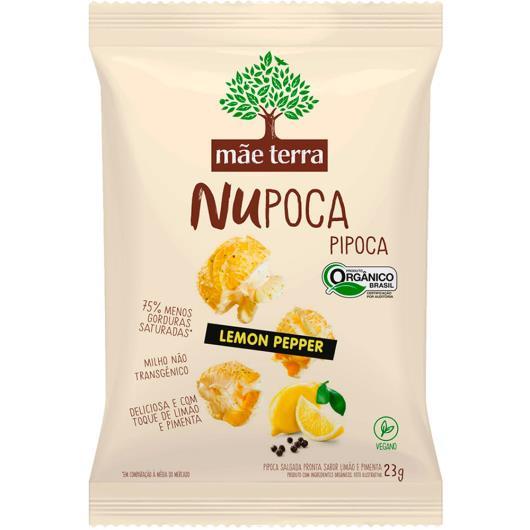 Pipoca Mãe Terra Nupoca Orgânica Lemon Pepper 23g - Imagem em destaque