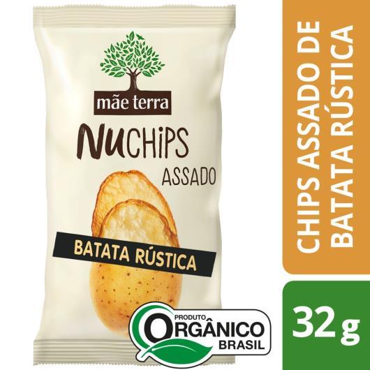 Chips Mãe Terra Nuchips Orgânico Batata Rústica 32g - Imagem em destaque