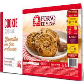 Cookie Forno de Minas Baunilha Gotas de Chocolate Congelado 180g