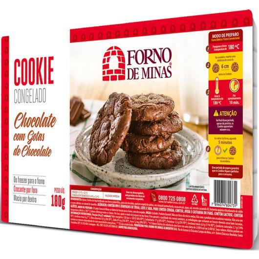 Cookie Forno de Minas Chocolate com Gotas de Chocolate Congelado 180g - Imagem em destaque