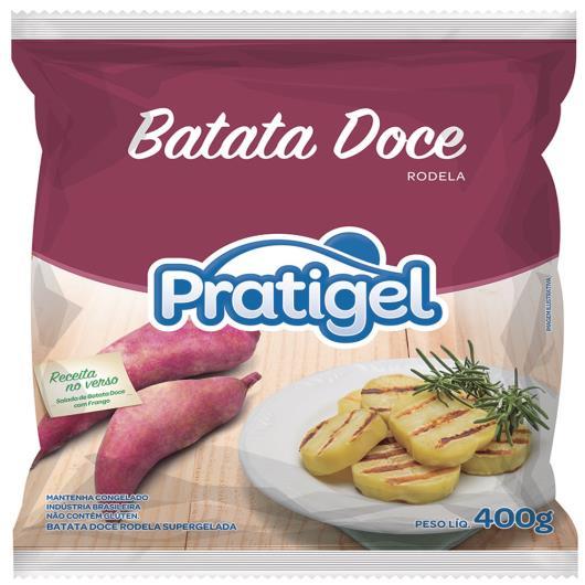 Batata Doce Pratigel Rodelas Congelada 400g - Imagem em destaque