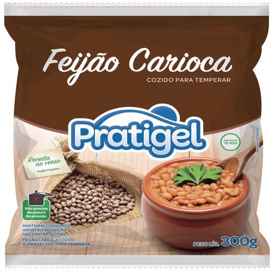 Feijão Pratigel Carioca Congelado 300g - Imagem em destaque