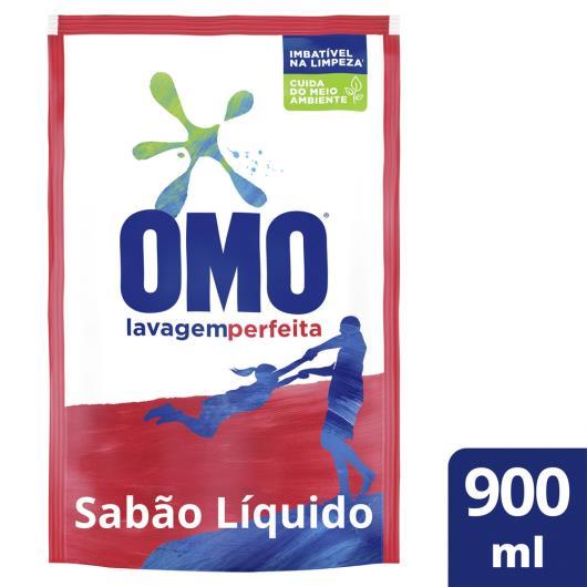 Sabão Líquido Omo Lavagem Perfeita Refil 900 ML - Imagem em destaque