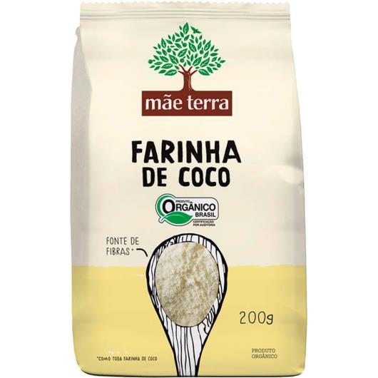 Farinha de Coco Mãe Terra Orgânica 200g - Imagem em destaque